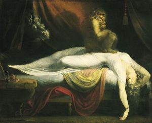 John_Henry_Fuseli - The Nightmare