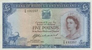 Rhodesia money