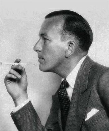 Coward_with-cigarette-holder