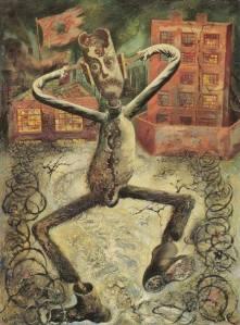 Der graue Mann tanzt George Grosz 1949