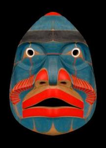 Bella Coola Komokwa mask Kwaguilth