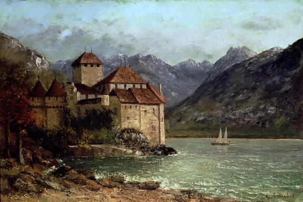 The-Chateau-de-Chillon-1875-xx-Gustave-Courbet