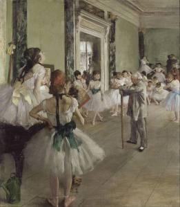 Degas Danse Class