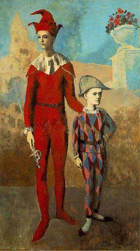 picasso-acrobat-and-harlequin-1905